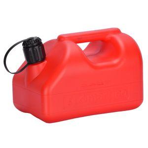 Bidón Plástico 5 Litros Rojo