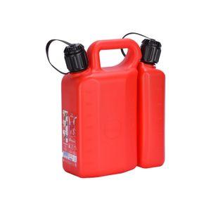 Bidón Plástico 3,6 - 1,4 Litros Rojo