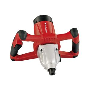 Mezcladora Pintura/Mortero 1600 Watts TE MX 1600-2 CE Einhell Negro/rojo