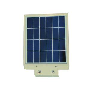 Reflector Led Calle Solar 12 Watts c/Sensor Blanco Parksolar Blanco