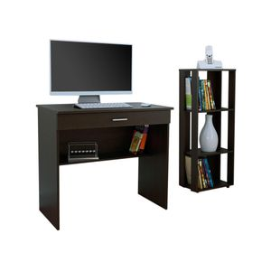 Set Escritorio Office 1 + Librero Office 1 C1-OFF Tuhome
