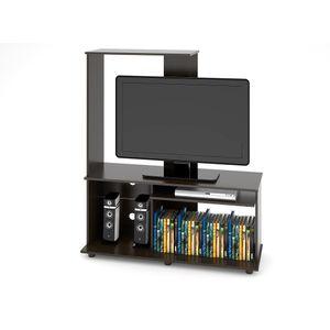 Estante LCD 140 x 120 x 40 cm Magallanes Wengue Negro Tuhome Wengue negro