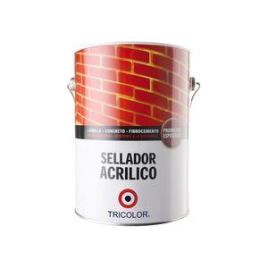 Sellador Acrílico 1 Galón Tricolor Incoloro