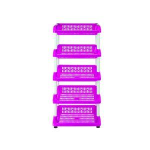 Organizador Plástico Cocina 121 x 40 x 52 cm Rosado