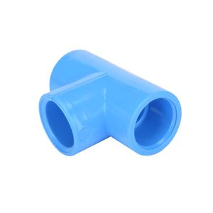 Tee Presión 20 mm Hoffens Azul