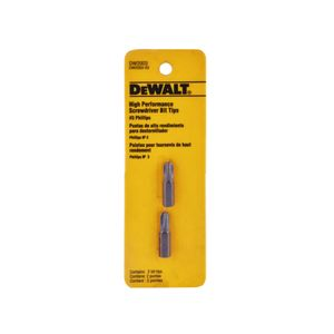 Pack 2 Puntas Phillips #3 Dewalt Acero