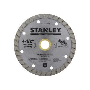 "Disco Corte 4 1/2"" Stanley Acero"
