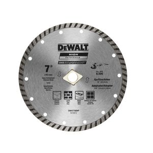 "Disco Corte 7"" Concreto Turbo Dewalt"
