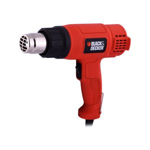 Pistola Calor 1500 Watts HG1500 Black And Decker Naranja