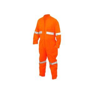 Overol Piloto Talla XL Canvas c/Reflectantes Naranja Gili Naranja