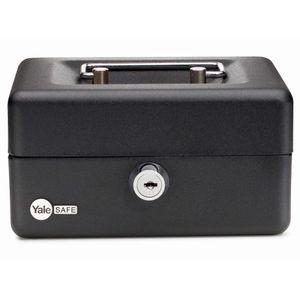 Caja de Seguridad 1,5 Litros YCB80 Yale Negro