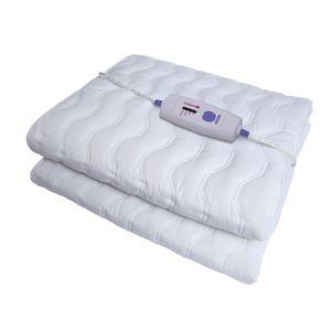 Calientacama individual algodón airolite Blanco