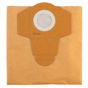 Pack bolsa filtro de papel 5 un aspiradoras polvo y agua 30 litros einhell Blanco