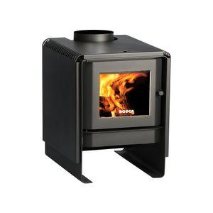 Calefactor a leña 9,4 kW ECO 360 bosca Negro