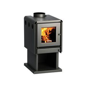 Calefactor a leña 11,5 kW Limit 380 bosca Negro