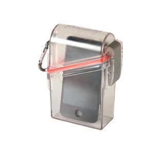 Caja plástica 15,24 x 11,43 x 8,25 cm hermética coleman Transparente