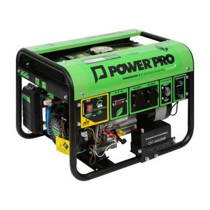 Generador a gas 2,8 kva DG3000 power pro Verde / Negro