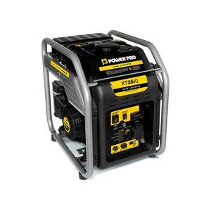 Generador portátil a gasolina 4T 3,5 kva XT35IG power pro Negro