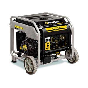 Generador a gasolina silencioso 4T XT7800IG power pro Negro