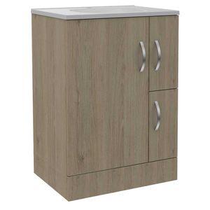 Mueble De Baño Vanguard Tuhome Rovere / Blanco