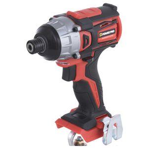 Atornillador De Impacto 18 volt 65id sin batería Power Pro Rojo
