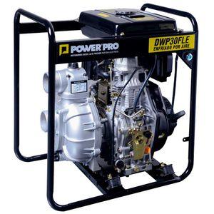 Motobomba diesel alta presion 3 DWP30FLE Power Pro Negro
