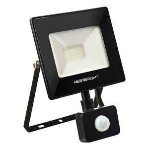 Proyector led 30w telco flat pro 6000k c/ sensor Megabright