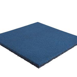 Palmeta Caucho 50 x 50 2,5 PlayPlaza Azul