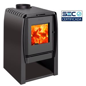 Calefactor a leña Nordic 360 amesti Gris Charcoal