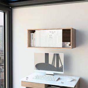 Gabinete Note - Blanco Hg / Miel Tuhome