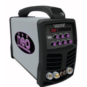 Soldadora Arco-Tig 250A Alta frecuencia 3 en 1 Neo
