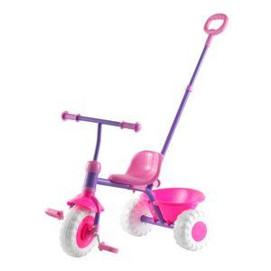 Triciclo Para Niña Con Manilla Para Adulto Gamepower