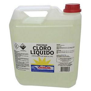 Cloro Liquido Bidon 5Lts