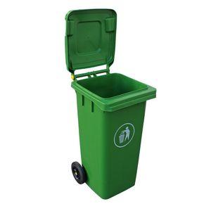 Contenedor Basura 120 Lts Verde