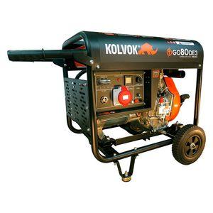 Generador Trifasico GO80DE3 8 KVA Diesel