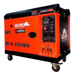 Generador Monofasico GS850D 6 KVA Diesel Kolvok