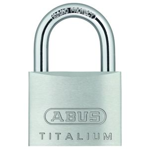 Candado Aluminio Titalium 64Ti 50 Kd Blis