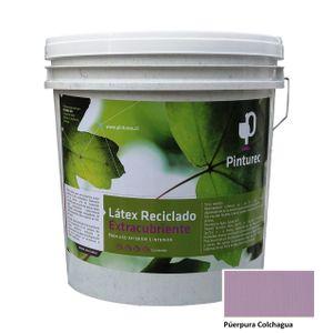 Látex Reciclado Extracubriente Púrpura Colchagua 4G