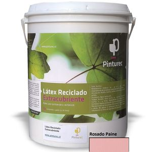Látex Reciclado Extracubriente Rosado Paine 1G