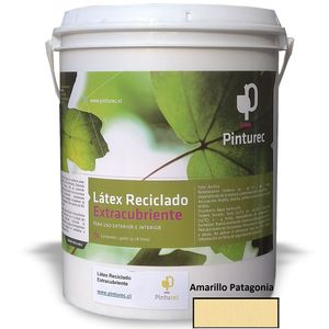 Látex Reciclado Extracubriente Amarillo Patagonia 1G