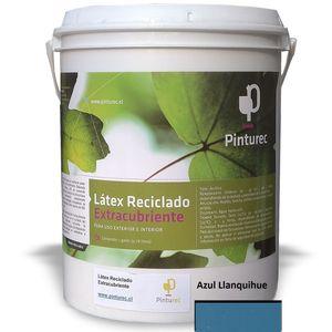 Látex Reciclado Extracubriente Azul Llanquihue 1G