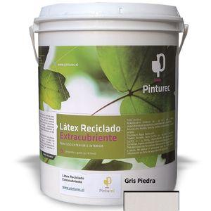 Látex Reciclado Extracubriente Gris Piedra 1G