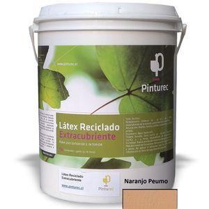 Látex Reciclado Extracubriente Naranjo Peumo 1G