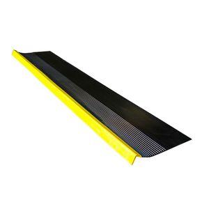 Grada Estriada Negra/Amarilla 1,5 m