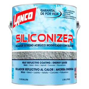 Sellador de Techos Siliconizer Verde 1gl Lanco